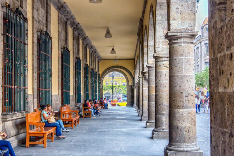 Guadalajara, Mexico. Is Mexico's second largest city and has a laid back charm for a city it's size royalty free stock photos