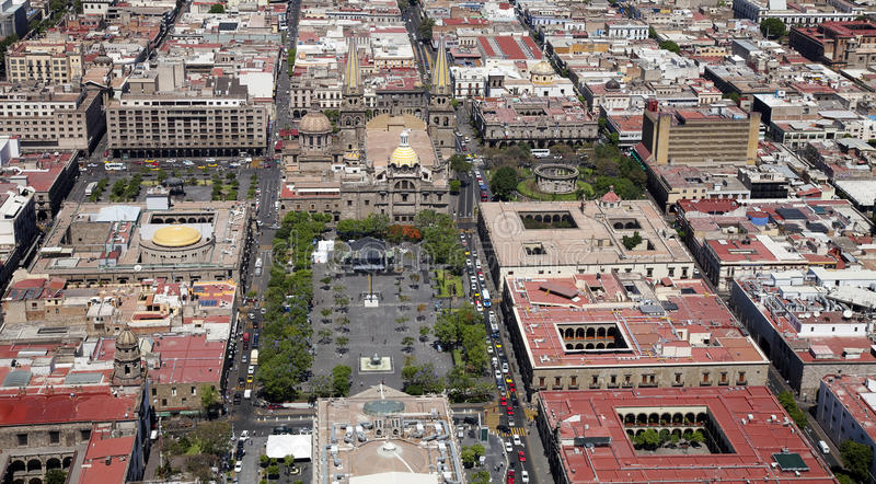 Guadalajara miasto obraz royalty free