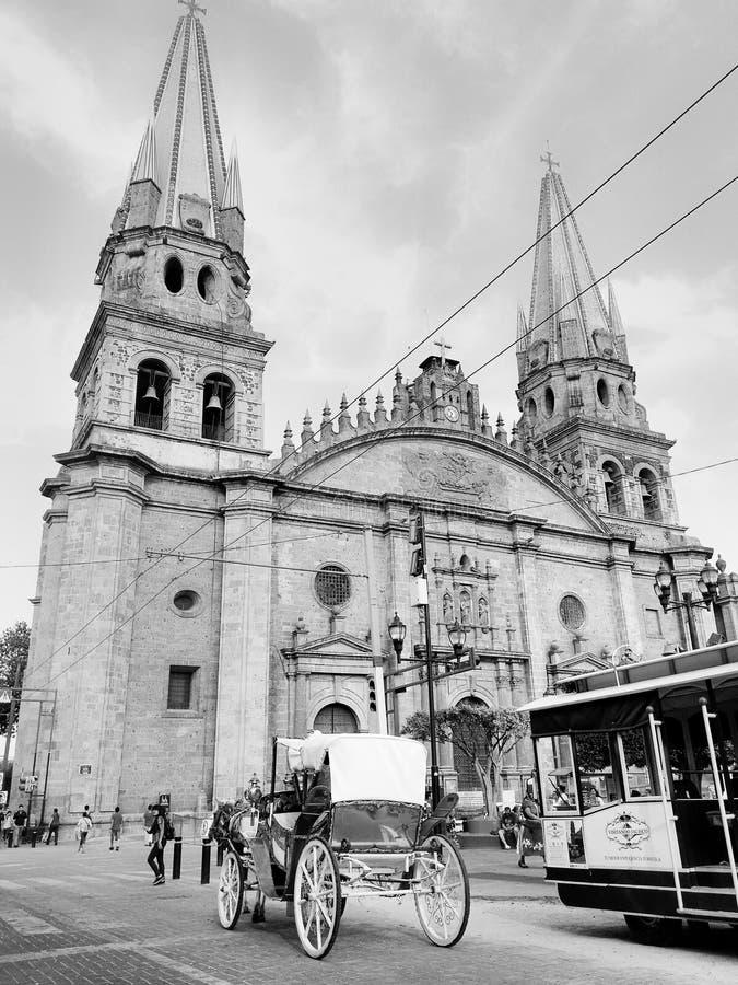 Guadalajara stad arkivbilder