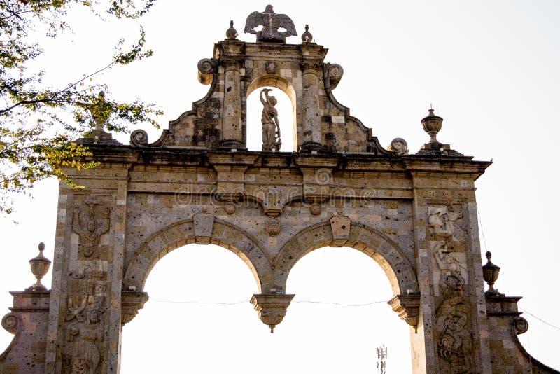 Guadalajara Zapopan Arcos Arq Jalisco Meksyk obrazy royalty free