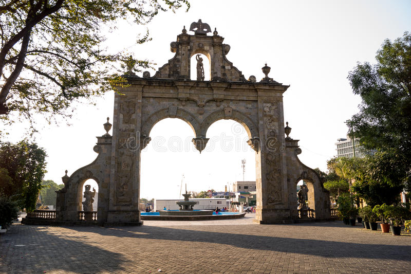 Guadalajara Zapopan Arcos Arq Jalisco Mexico arkivfoton