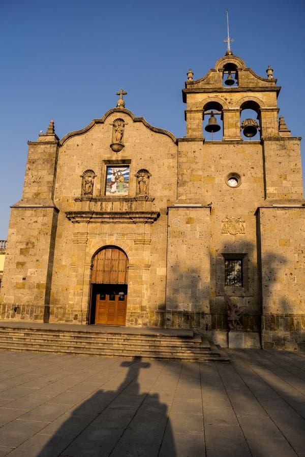 Guadalajara Zapopan San Pedro Jalisco Mexico. Guadalajara Zapopan Catedral Cathedral Jalisco Mexico. Located in the heart of Zapopan downtown te iconique unique stock images