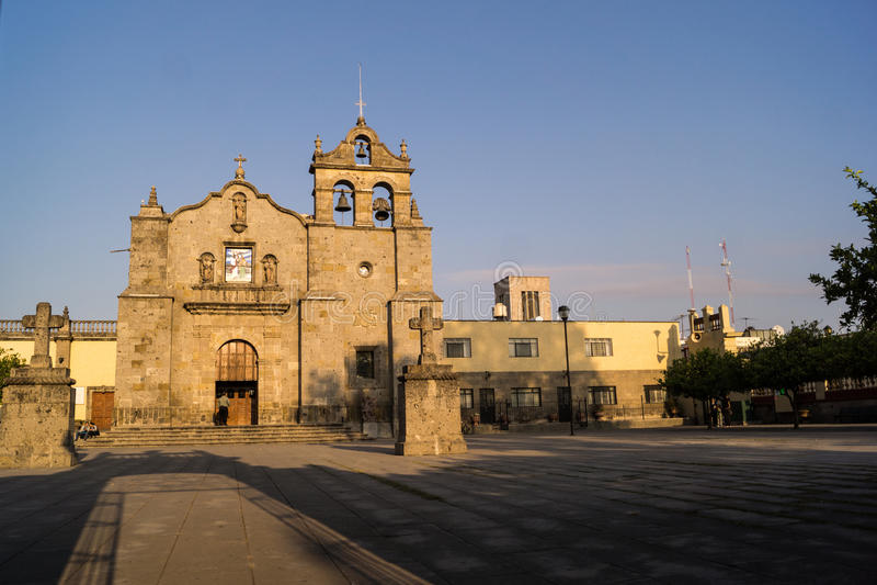 Guadalajara Zapopan San Pedro Jalisco Mexico. Guadalajara Zapopan Catedral Cathedral Jalisco Mexico. Located in the heart of Zapopan downtown te iconique unique stock photography