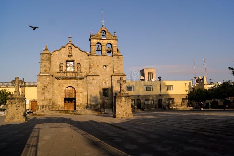 Guadalajara Zapopan San Pedro Jalisco Mexico. Guadalajara Zapopan Catedral Cathedral Jalisco Mexico. Located in the heart of Zapopan downtown te iconique unique stock image