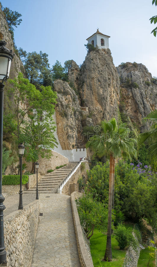 Guadalest royalty free stock photo