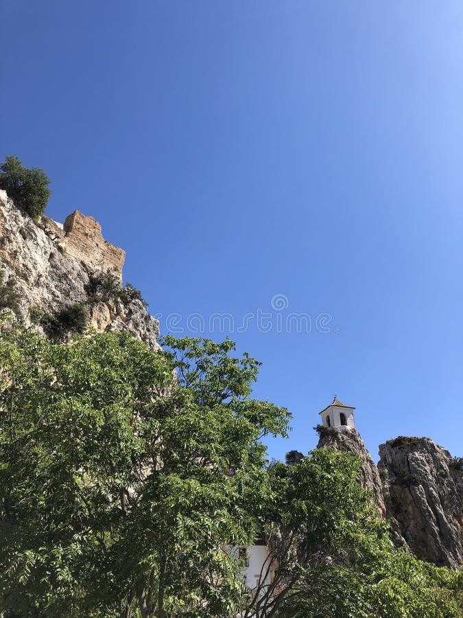 Guadalest Spain stock image