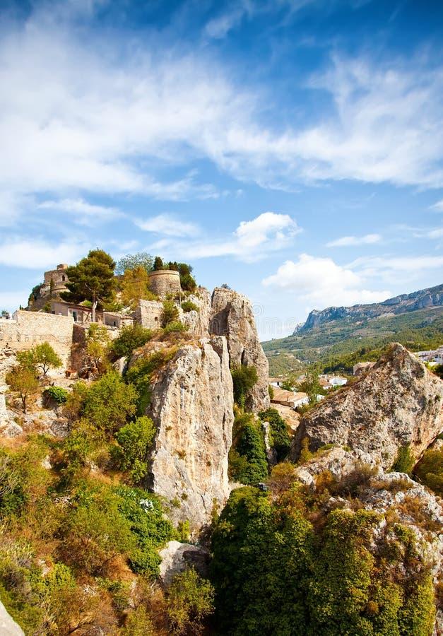 Guadalest, Spanje royalty-vrije stock fotografie