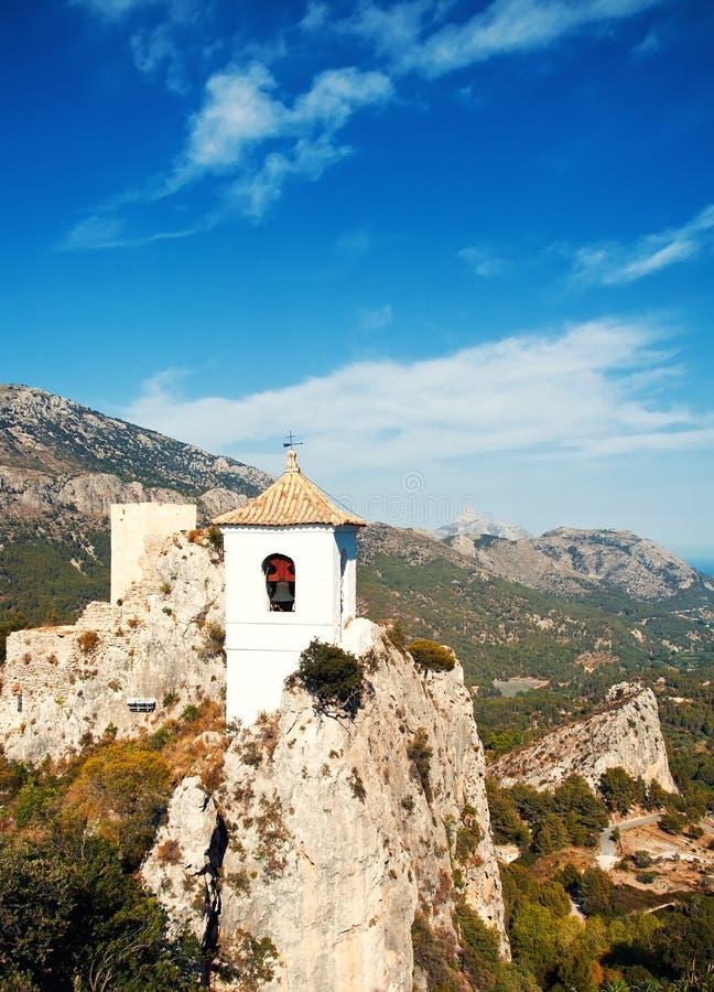Guadalest, Spanje stock afbeelding