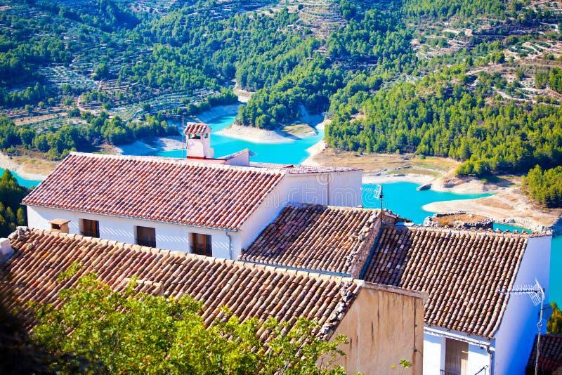 Guadalest, Spanje royalty-vrije stock afbeelding