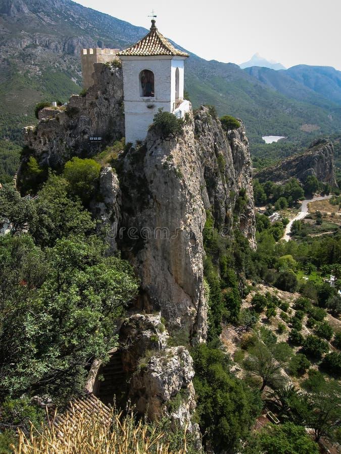 Guadalest, Valencia y Murcia, Spanje royalty-vrije stock foto