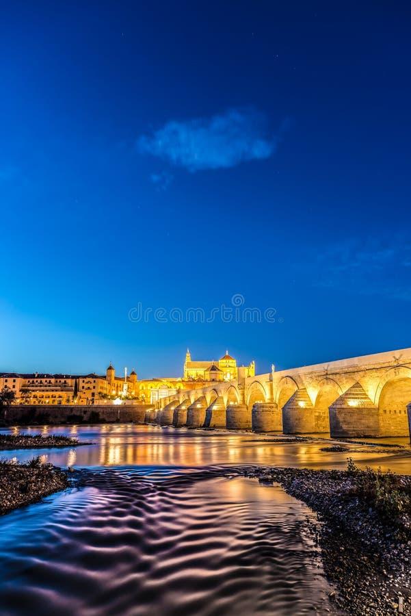 Guadalquivir river in Cordoba, Andalusia, Spain. Guadalquivir river as it passes through the city of Cordoba in the province of Andalusia, Spain royalty free stock photos