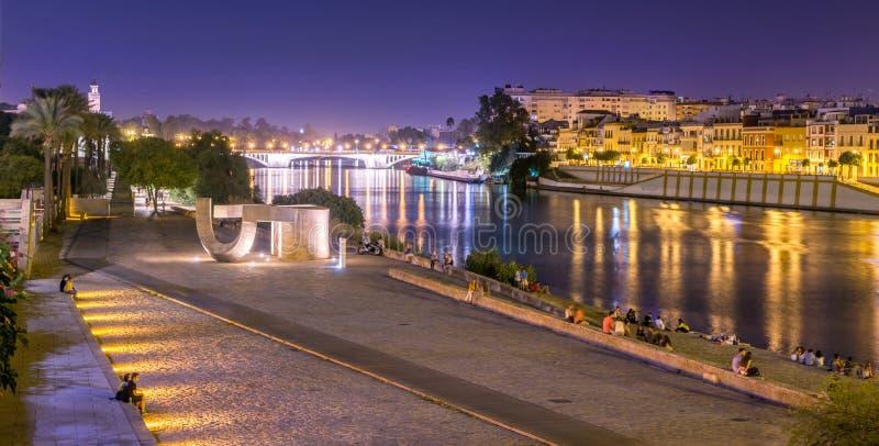 Guadalquivir river stock photography