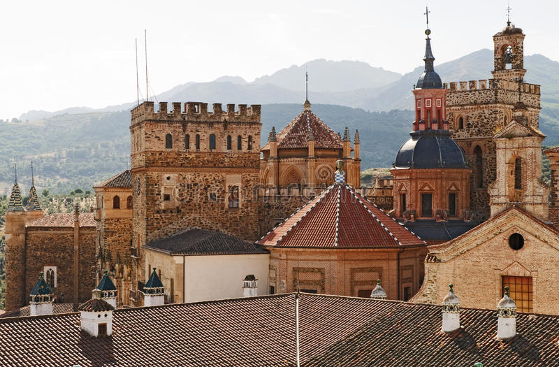 guadalupe屋顶西班牙 免版税库存照片