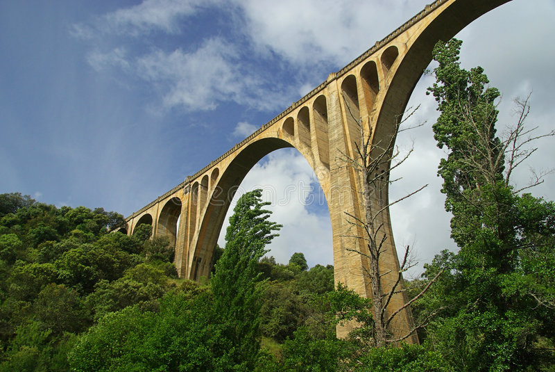 Guadalupe桥梁2 库存图片