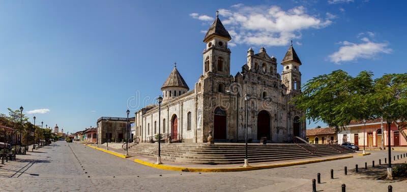 Guadalupe Church à Grenade, Nicaragua image libre de droits
