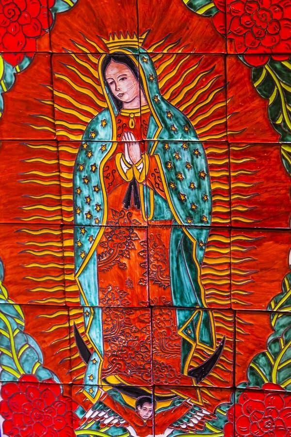 Guadalupe Dolores Hidalgo Mexico ceramico variopinto fotografia stock libera da diritti
