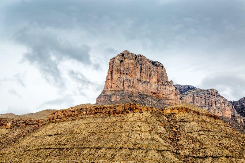 Guadalupe góry Teksas obraz stock