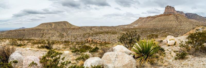 Guadalupe góry Teksas zdjęcie royalty free
