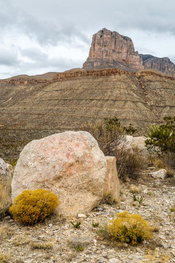 Guadalupe góry Teksas obrazy stock