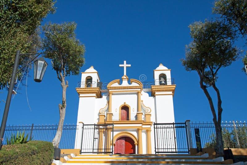 Guadalupe-Kirche, San Cristobal de Las Casas, Mexiko lizenzfreie stockfotografie