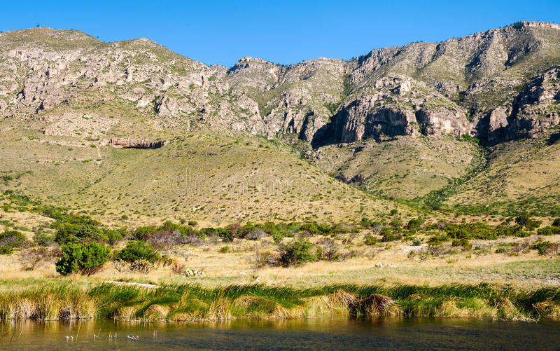 Guadalupe Mountains National Park. Texas stock photo