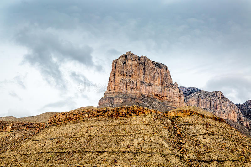 Guadalupe Mountains Texas immagine stock
