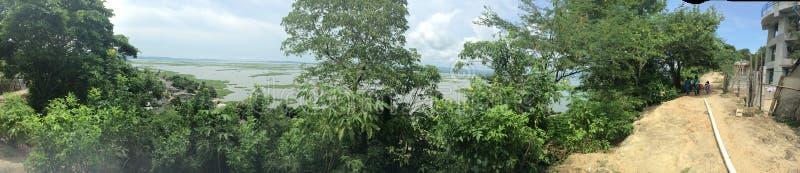 Guajaro湖全景 库存照片