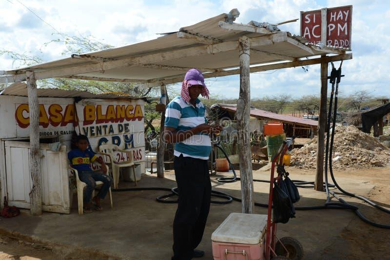 GUAJIRA SCHIEREILAND colombia stock afbeeldingen