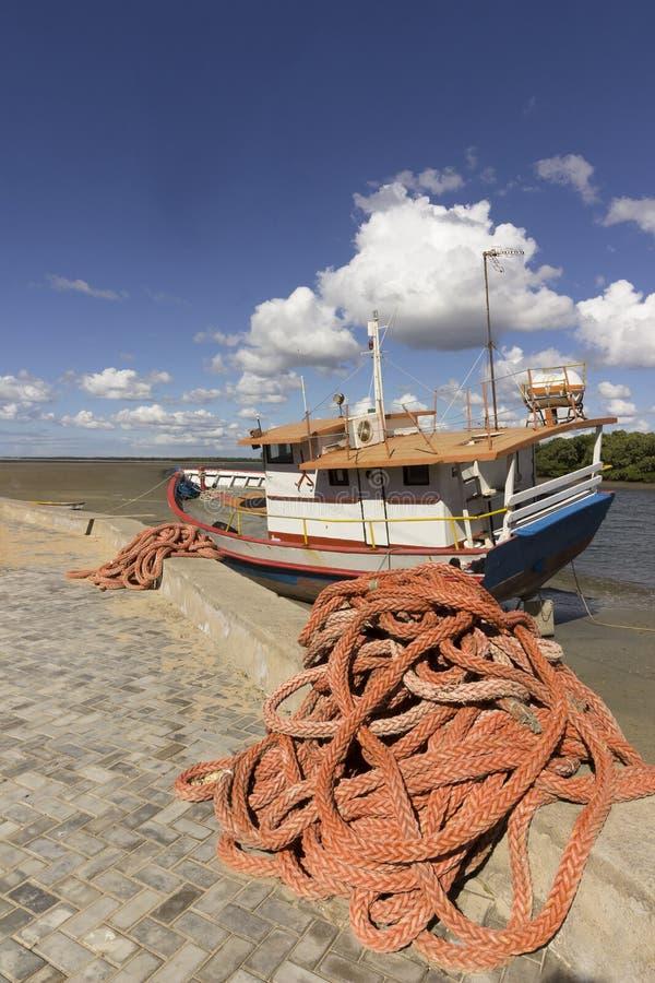 Guamare, RN, Brazilië stock foto's