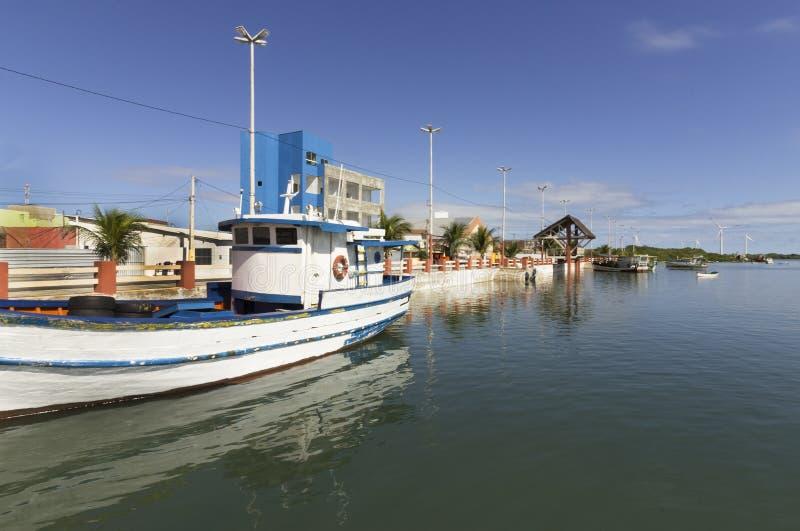 Guamare, RN, Brazilië stock afbeelding