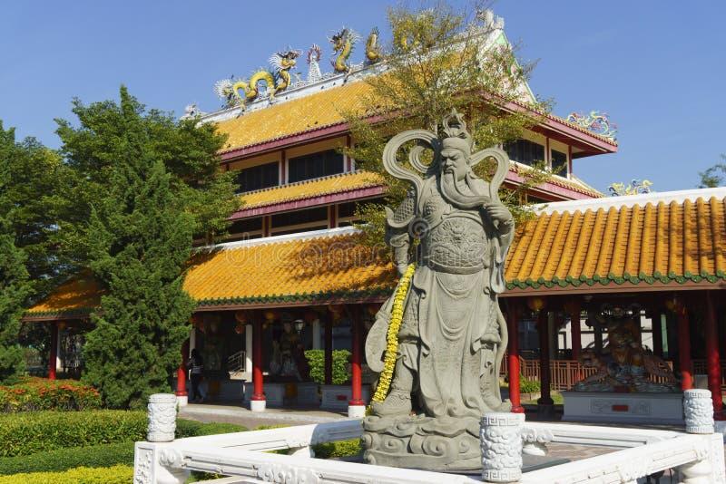 guan statyyu arkivbilder