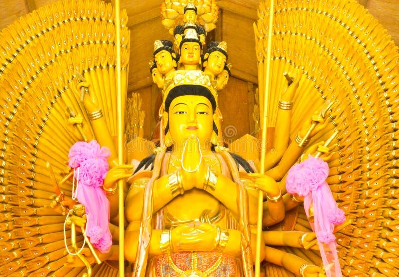 Guan Yin royalty-vrije stock foto's