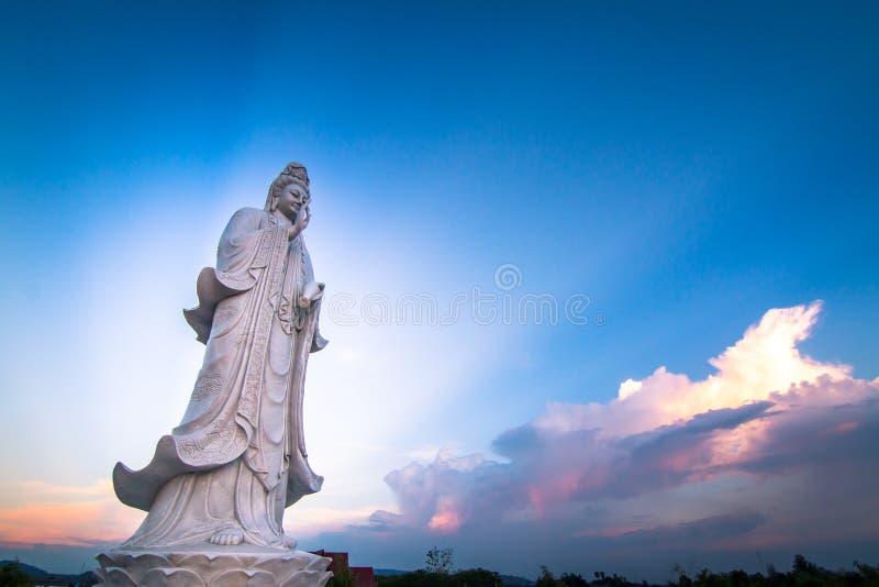 guan yin royaltyfri foto