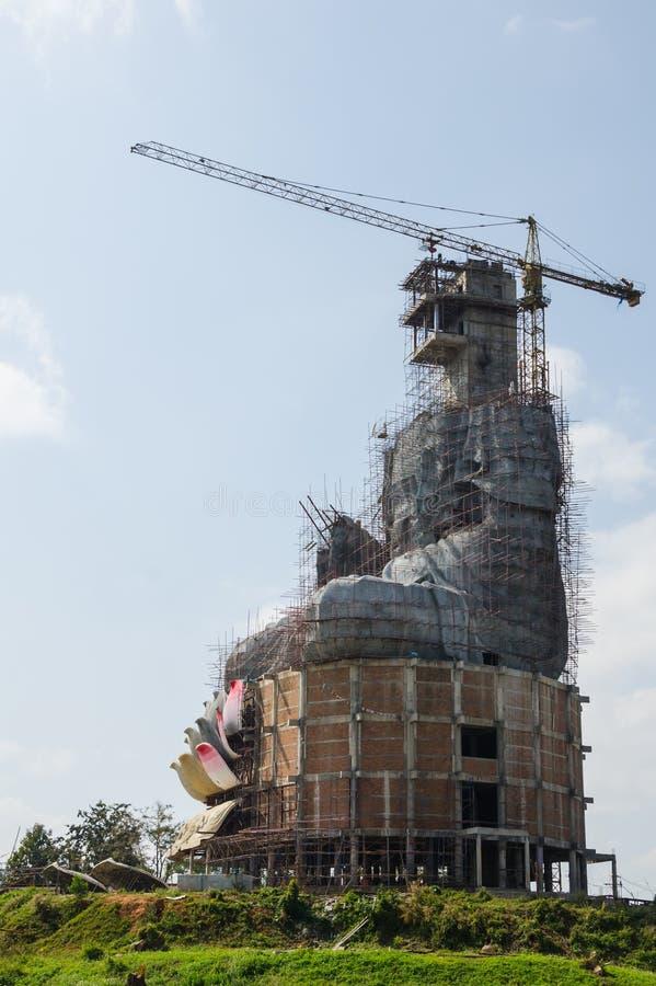 Guan Yin en construction images stock
