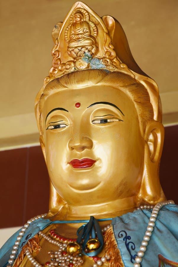 Guan yin Statue stockbild