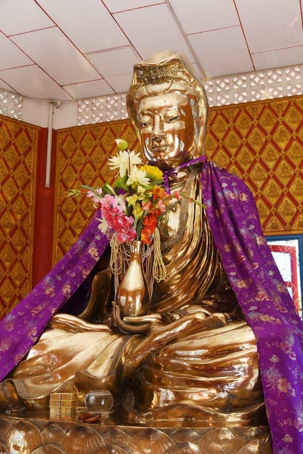 Guan yin Statue stockbilder