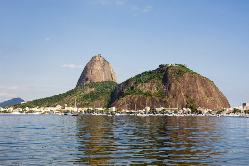 Guanabara Bay Rio De Janeiro Royalty Free Stock Images