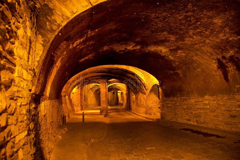 guanajuato墨西哥地下业务量隧道 库存图片