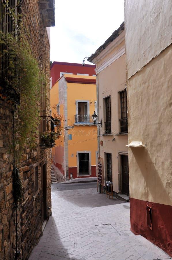 guanajuato переулка стоковые изображения rf