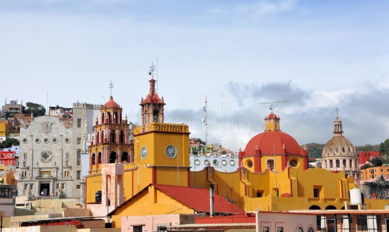 Guanajuato downtown royalty free stock photo