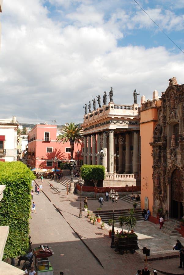 Guanajuato Meksyk turystyka fotografia stock