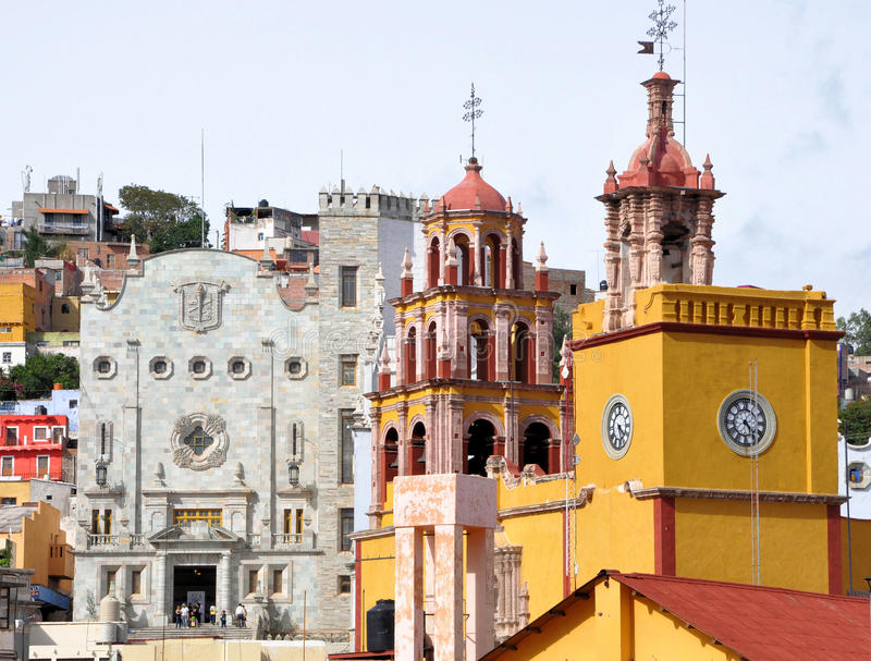Download Guanajuato Mexico stock photo. Image of cathedral, city - 13303154