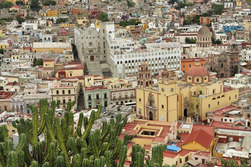 Guanajuato Mexiko stockfotografie
