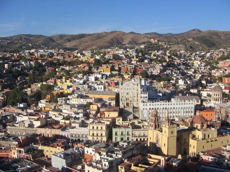 Guanajuato, Mexiko stockbilder