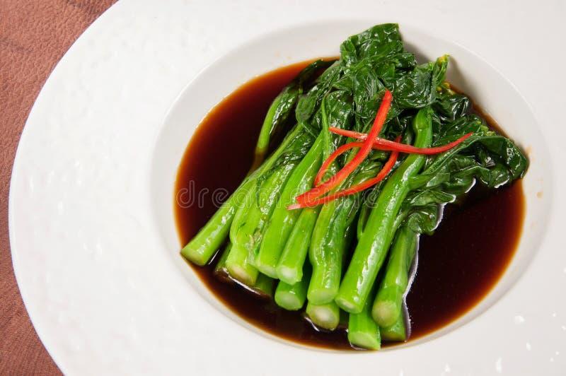 Guangdong kwitnie Chińskiej kapusty fotografia stock