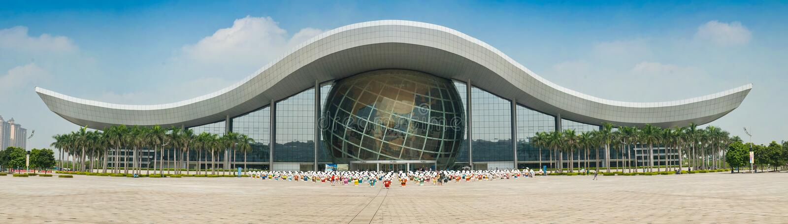 Guangdong science center stock images