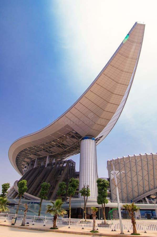 Guangxi stadion royaltyfri foto