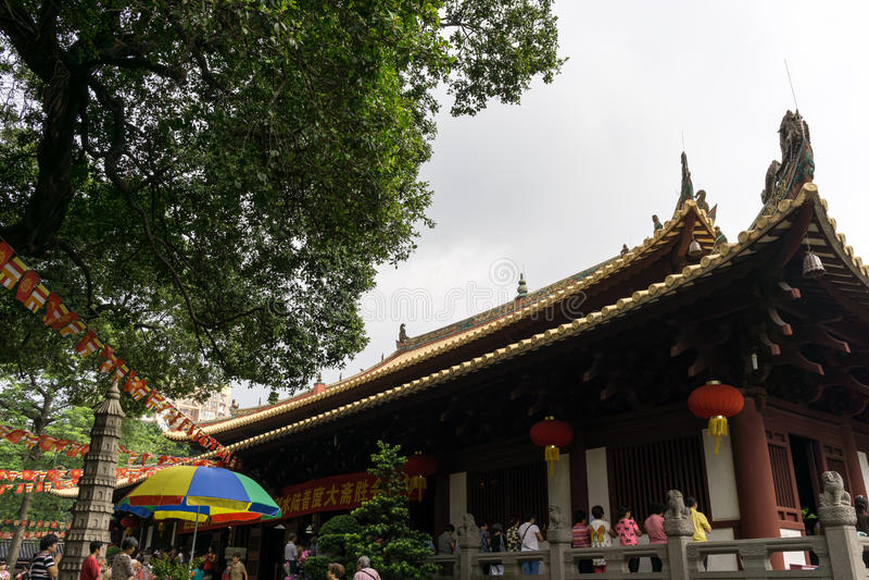 Guangxiao寺庙 免版税库存照片