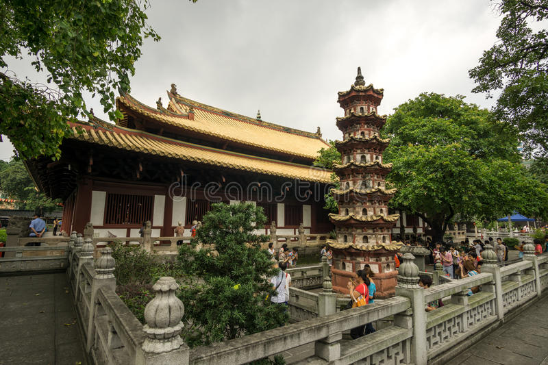 Guangxiao temple royalty free stock photography