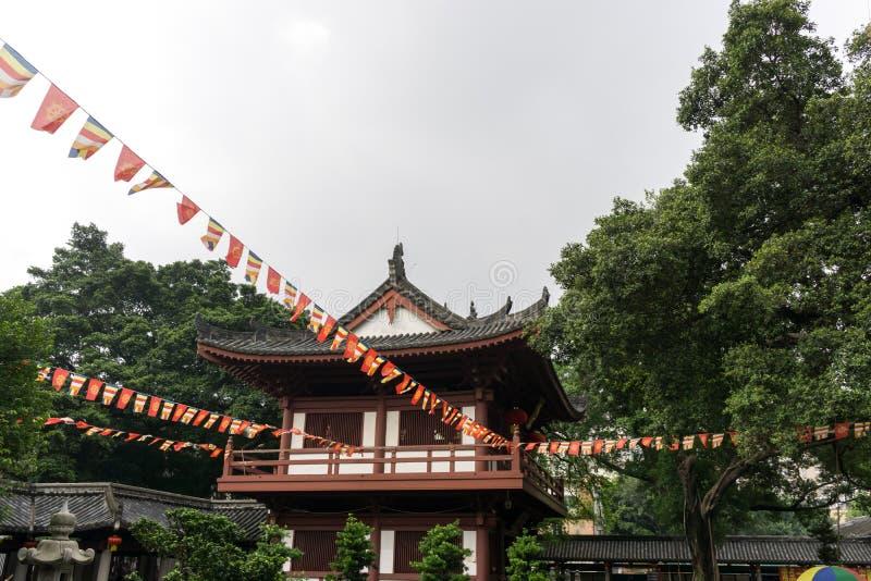 Guangxiaotempel stock fotografie